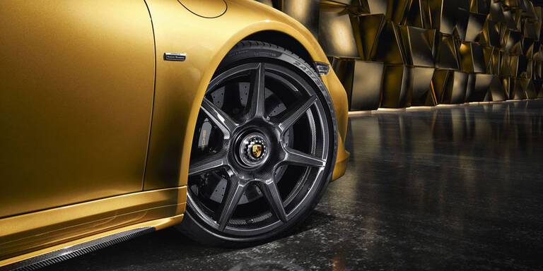 Porsche bringt geflochtene Carbon-Räder