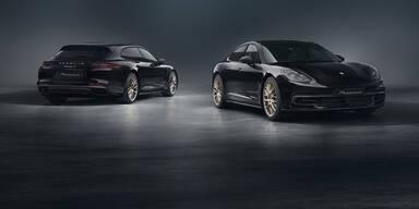 Porsche Panamera als Edition 10 Jahre