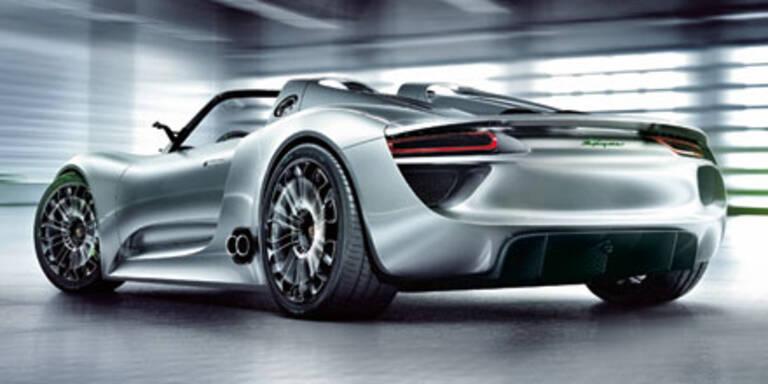 Porsche verrät den Preis für den 918 Spyder