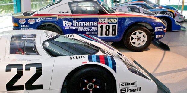 Mythos Porsche in Linzer Tabakfabrik