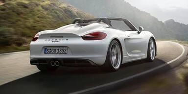 Porsche stellt neuen Boxster Spyder vor