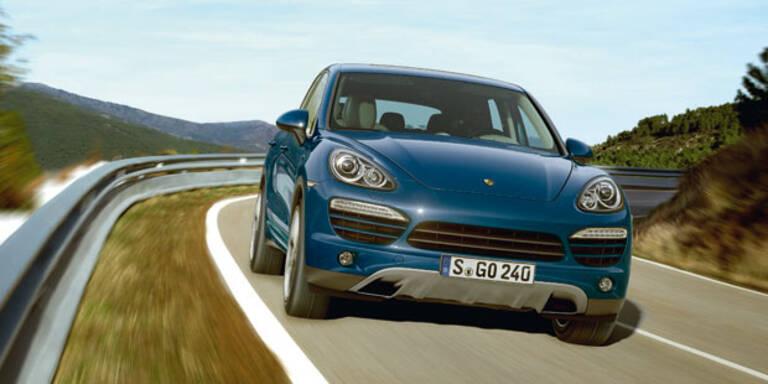Porsche ruft Cayenne und Panamera zurück