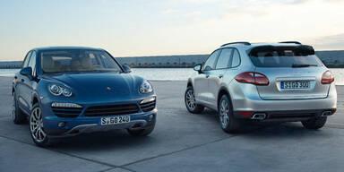 Porsche rast dank Cayenne zu neuem Rekord