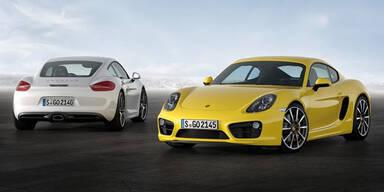 Das ist der brandneue Porsche Cayman