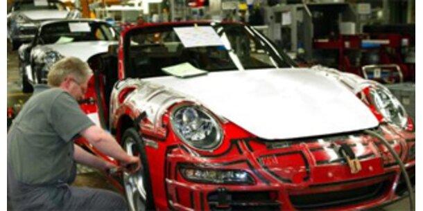 Porsche-Produktion nach Explosion lahm gelegt