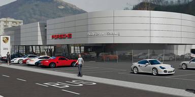 Porsche baut Parkdeck