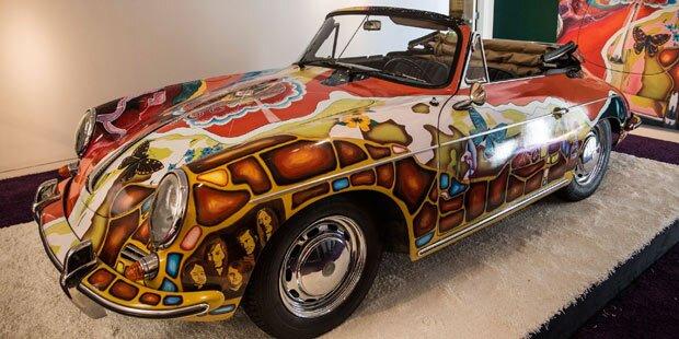 Rekordpreis für Janis Joplin Porsche
