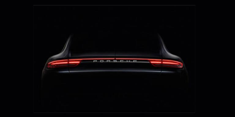 Porsche zeigt den neuen Panamera