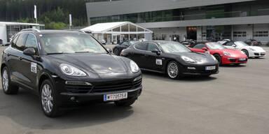 Eindrücke vom Porsche-Event in Spielberg
