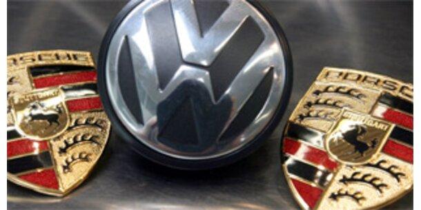 Porsche bringt VW unter seine Kontrolle