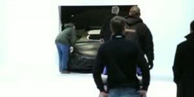 Porsche Weltpremiere in Detroit
