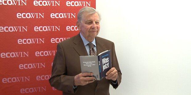 Hugo Portisch stellt neues Buch vor