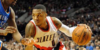 Trail Blazers im NBA-Play-off aufgestiegen