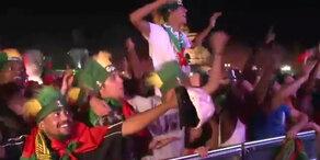 So wild jubeln die Portugal-Fans