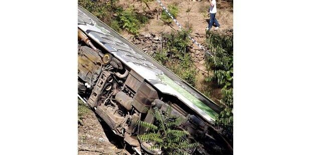 Zwei Tote bei Zugsunglück in Portugal