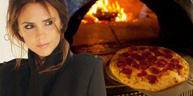 Vic Beckham: Einmal Pizza ohne Teig, bitte!