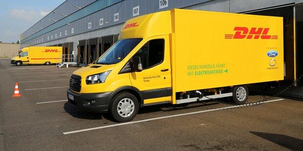 Deutsche Post baut größere E-Transporter
