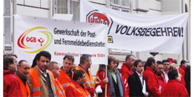 Post-Gewerkschaft kritisiert Pröll