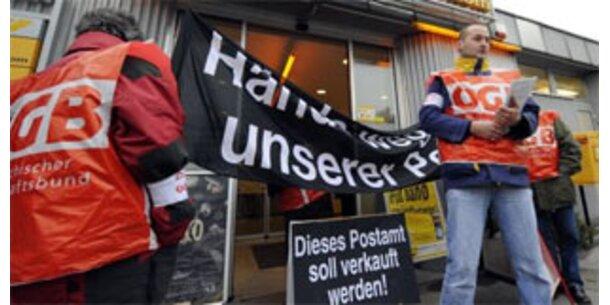 Wo die Postler streiken
