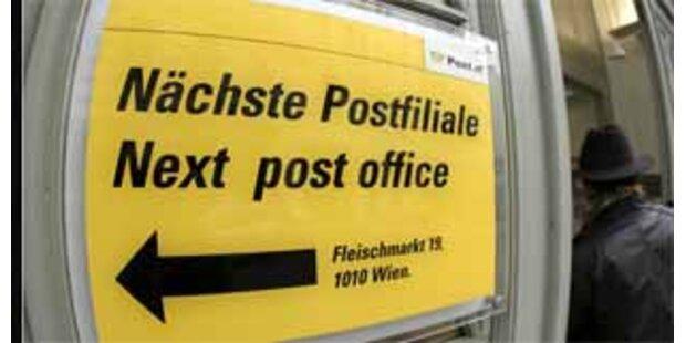 Postämterschließung per Verordnung vorerst eingefroren