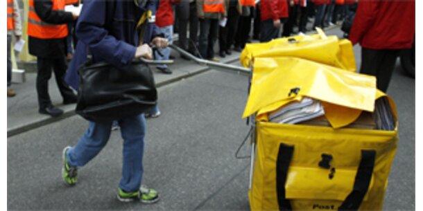 Ab 22. November streiken die Postler