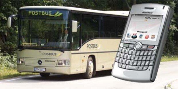 ÖBB: Handy verrät, wann der Bus kommt