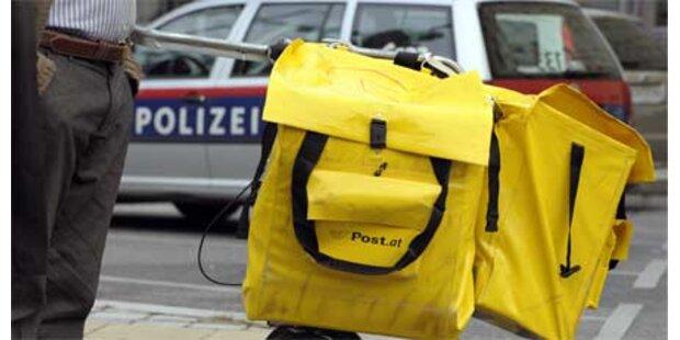 Gangster-Trio überfällt Postamt in Wien