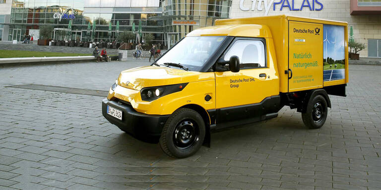 Deutsche Post baut eigene E-Autos
