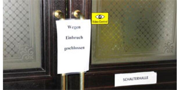 Tresor aus Innsbrucker Hauptpost gestohlen