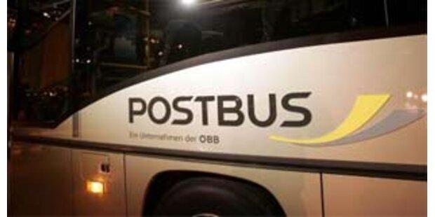 Betrunkener Bus-Lenker verursachte Unfall