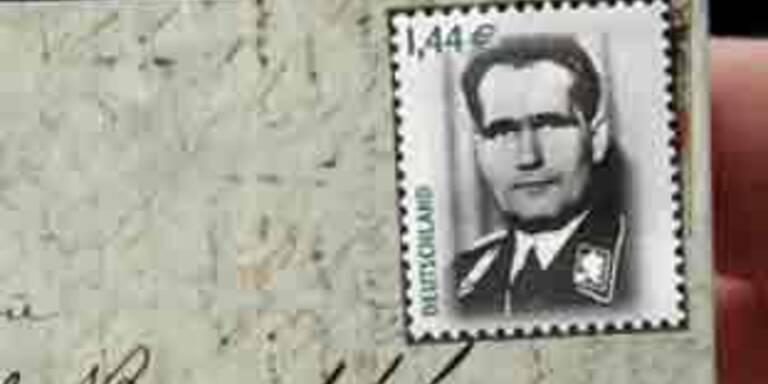 Deutsche Post veröffentlicht Marke mit Rudolf Hess