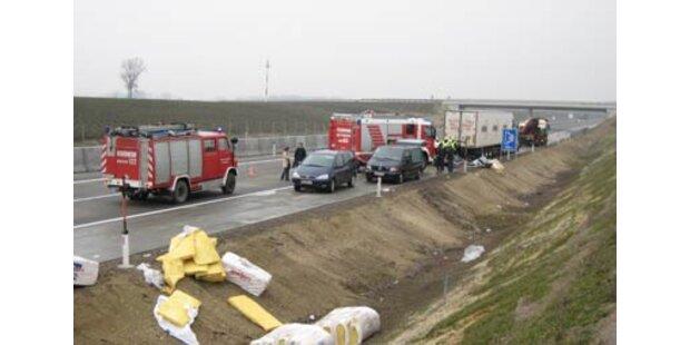 Vier Tote nach Horror-Crash auf der A6