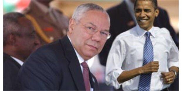 Bushs Ex-Außenminister Powell unterstützt Obama