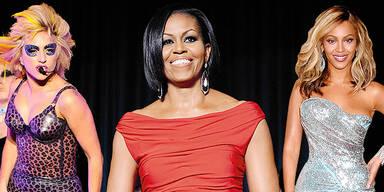 Powerfrauen Forbes Liste Michelle Obama Lady Gaga Beyonce