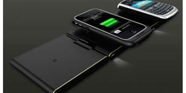 Handys, MP3-Player&Co. kabellos aufladen