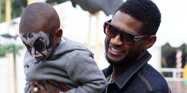 Ushers Sohn kämpft ums Überleben