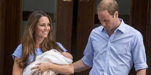 So wird Kates Baby bewacht