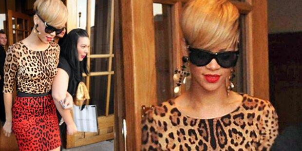 Miau! Rihannas buntes Leo-Kleid