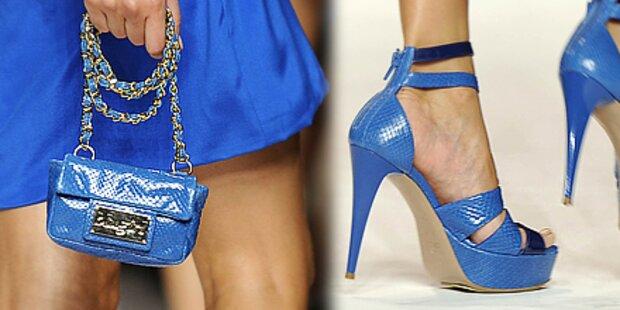 Schuhe und Taschen im Partnerlook