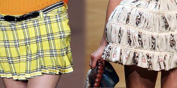 Sooo hot! Sexy Miniröcke für den Sommer