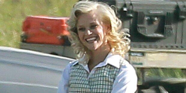Reese Witherspoon zeigt den Reiter-Chic