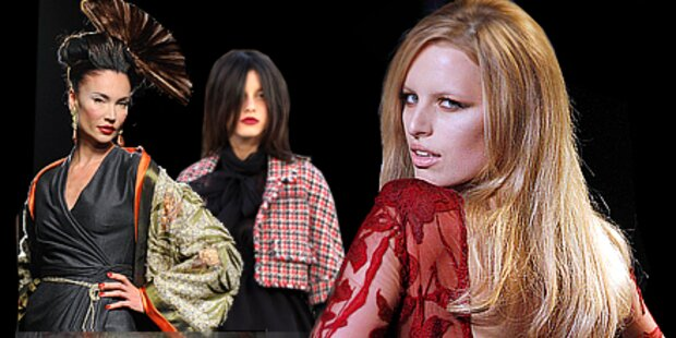 Die Luxusfrisuren der Couture-Schauen
