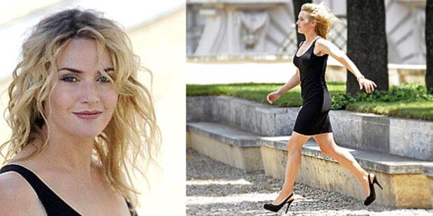Hot: Kate Winslet im Minikleid