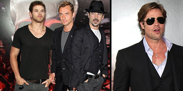 So stylen sich Hollywoods Männer