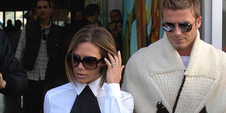 Victoria und David Beckham. (c) Photo Press Service, www.photopress.at