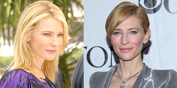 Auch Cate Blanchett trägt's jetzt kurz!