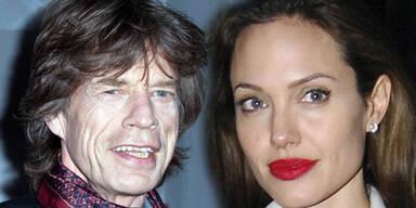 Was lief zwischen Jolie und Mick Jagger?