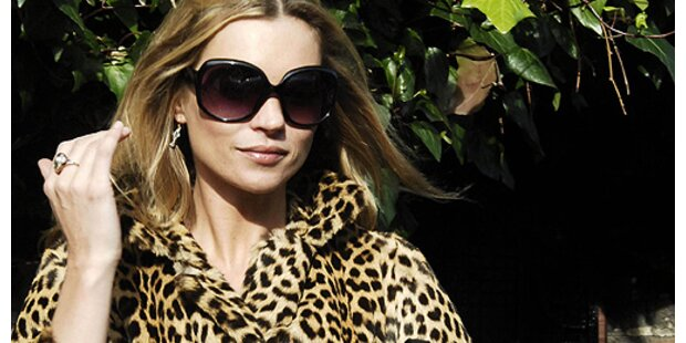 Kate Moss hat die Nase voll!