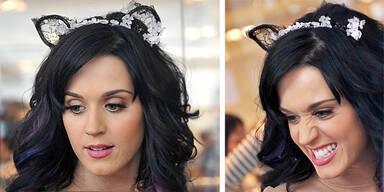 Katy Perry als Schmusekätzchen