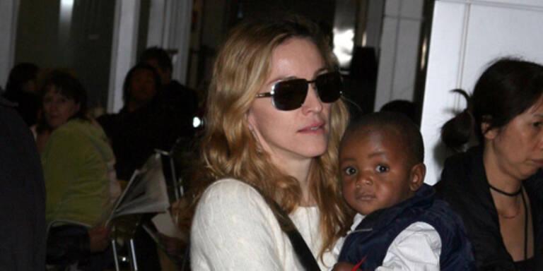 Madonna mit David Banda